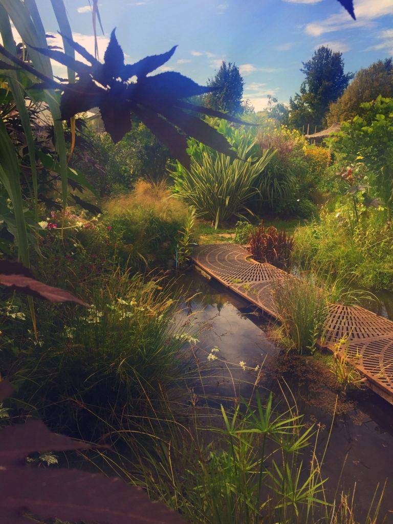 Jardin de l'école Du Breuil